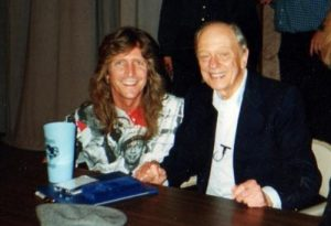With Don Knotts