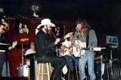 With Hank Williams Jr